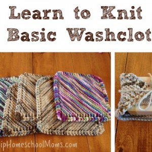 Learn to Knit a Basic Washcloth