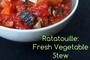 Fresh Vegetable Ratatouille Recipe
