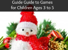 Gift Guide to Games for Children Ages 3 to 5