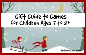 Gift Guide to Games for Children Ages 7 to 8+