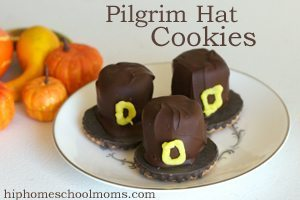 Pilgrim Hat Cookies