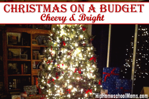 Christmas on a Budget: Cheery & Bright