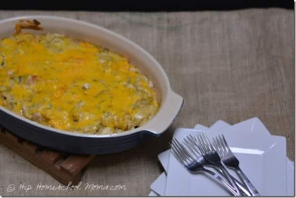 Chicken Tortilla Chip Casserole from Hip Homeschool Moms 1