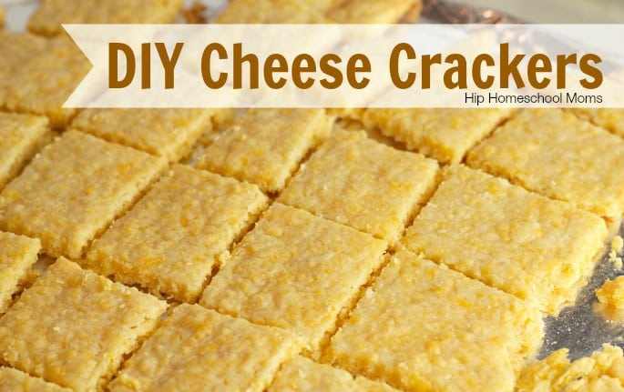 DIY Cheese Crackers