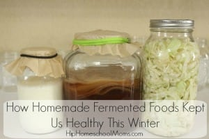 How Homemade Fermented Foods Kept Us Healthy This Winter