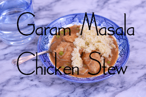 Garam Masala Chicken Stew