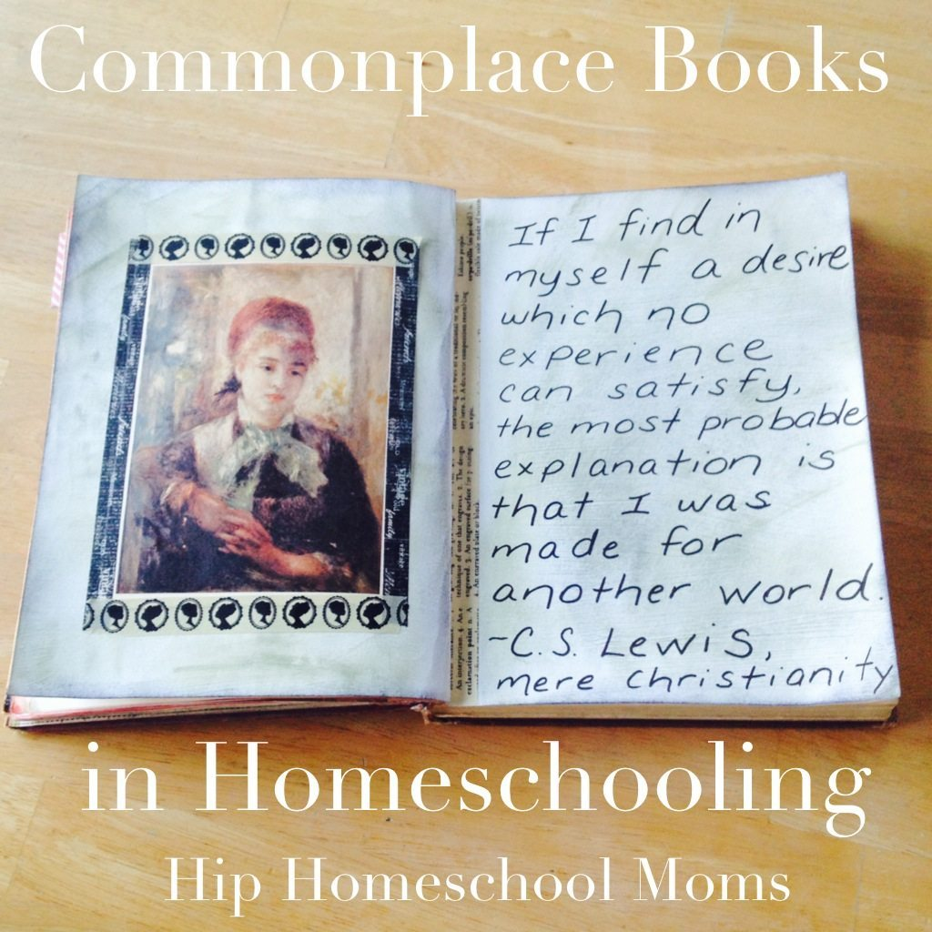 Commonplace Books in Homeschooling