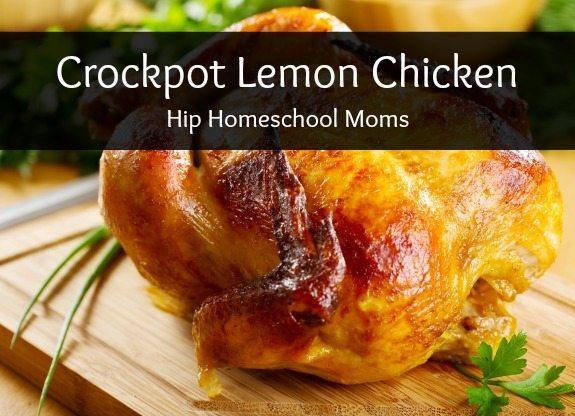 Crockpot Lemon Chicken