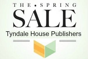Tyndale House Spring Sale Featured Image