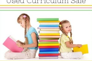 Used Curriculum Sale 2015