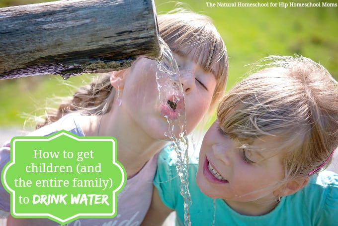 How to Get Your Family to Drink More Water