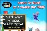 Reading Eggs FREE 4 Week Trial