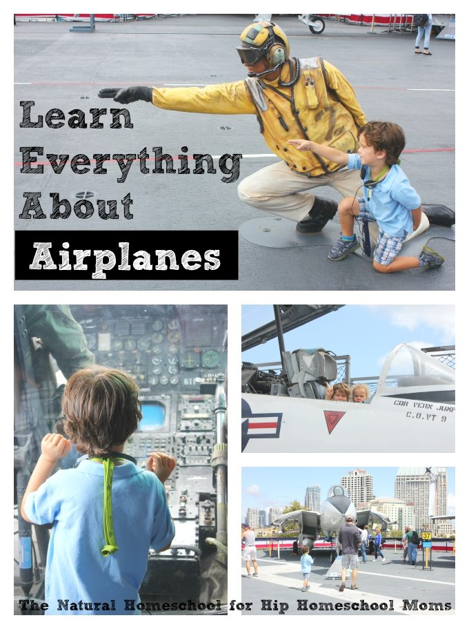 Learn Everything About Airplanes {Free Printable List}