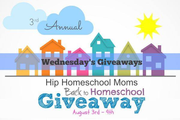 Wednesday's Sponsors for 2015 Back to Homeschool Giveaway {CLOSED}