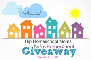 3rd Annual Hip Homeschool Moms Back to Homeschool Giveaway