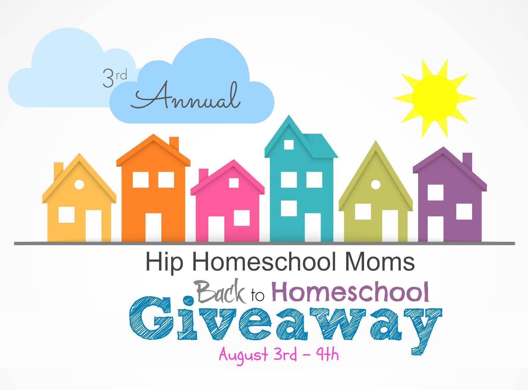 3rd Annual Hip Homeschool Moms Back to Homeschool Giveaway!
