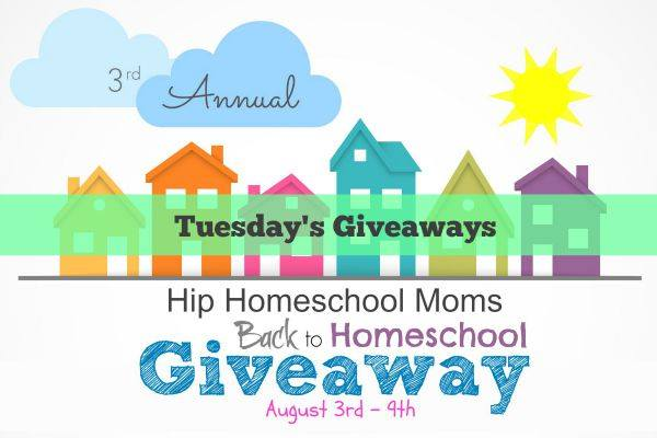 Tuesday's Sponsors for 2015 Back to Homeschool Giveaway {CLOSED}