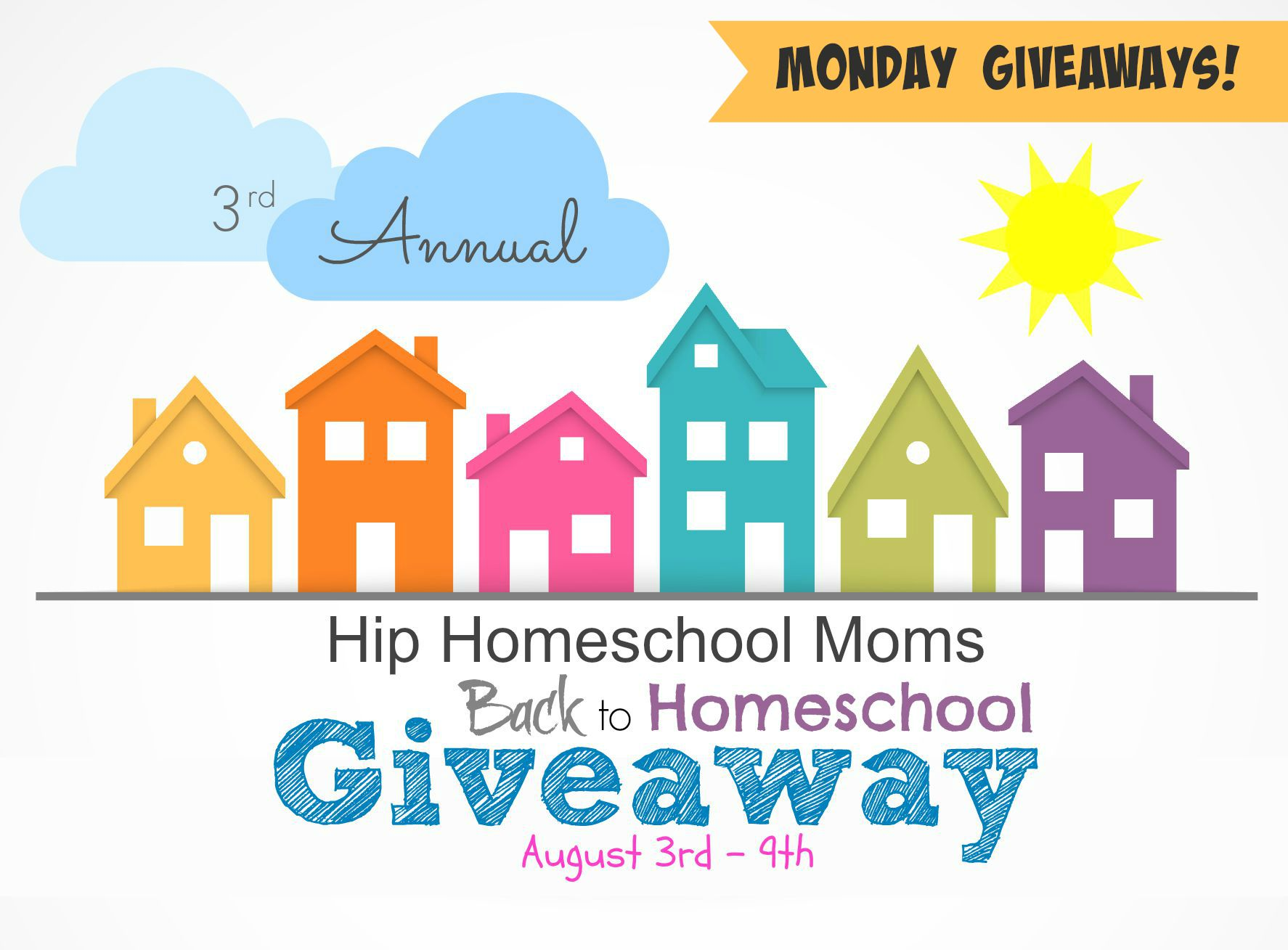 Monday's Sponsors for 2015 Back to Homeschool Giveaway {CLOSED}