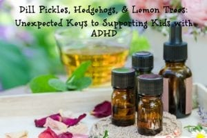 Dill Pickles, Hedgehogs, & Lemon Trees: Unexpected Keys to Supporting Kids with ADHD