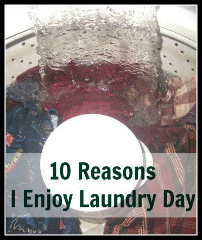 HOP 10 Reasons I Enjoy Doing Laundry