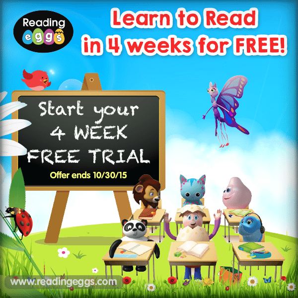 Reading Eggs Free Trial!