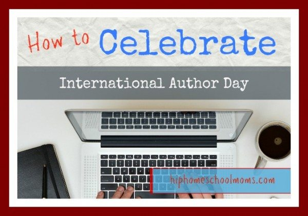 Celebrate Author's Day This November 1st