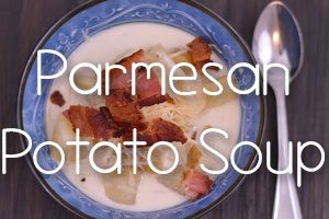Slow Cooker Parmesan Potato Soup
