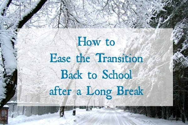 How to Ease the Transition Back to School after a Long Break