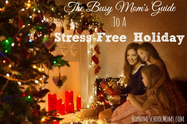 The Busy Mom's Guide to a Stress-Free Holiday
