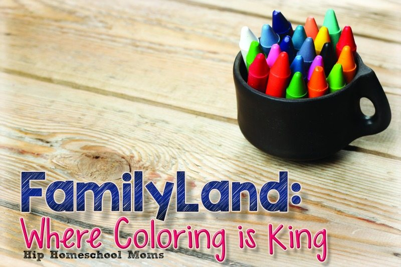 FamilyLand: Where Coloring Is King
