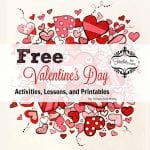 Free Valentine's Day Activities, Lessons, and Printables