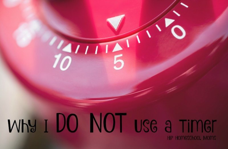 Why I DO NOT Use a Timer!