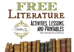 Free Literature Activities, Lessons, and Printables