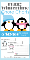 Wintertime-Themed-Chore-Charts-for-Children-with-5-Different-Styles-To-Choose-From