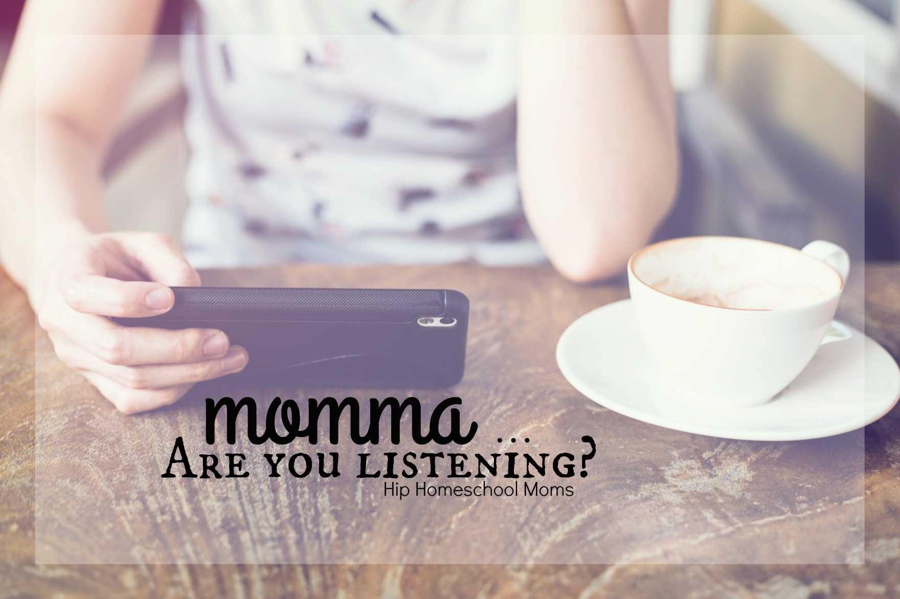 Momma Are You Listening?