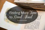 Finding More Time to Read Aloud