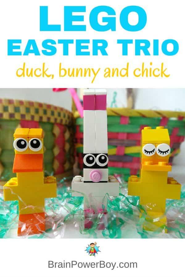 HHM Lego Easter Trio