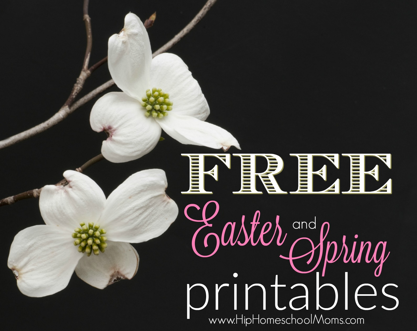 Free Spring Printables and Easter Printables
