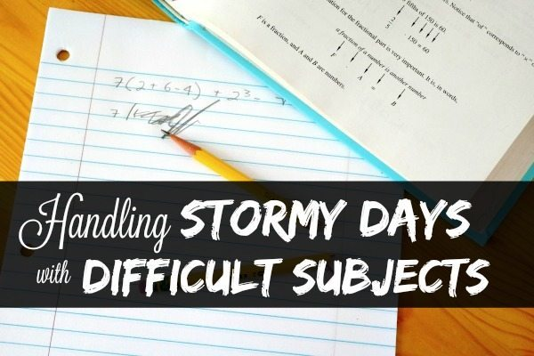 Handling Stormy Days with Difficult Subjects:  3 Do's and Don'ts
