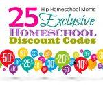 25 Exclusive Homeschool Discount Codes