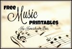 Music Related Printables