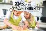 Kids in the Kitchen Printables