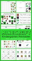 Minecraft-Kindergarten-Printables
