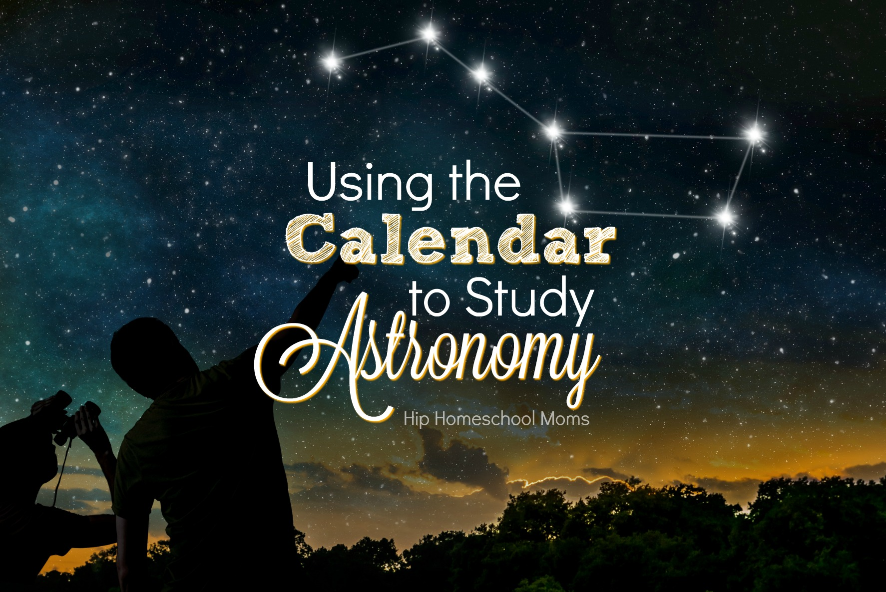 Using the Calendar to Study Astronomy