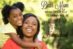 Dear Mom Who's Afraid Your Children Will Miss Out if They Homeschool