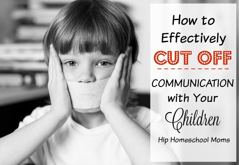 How to Effectively Cut Off Communication with Your Children
