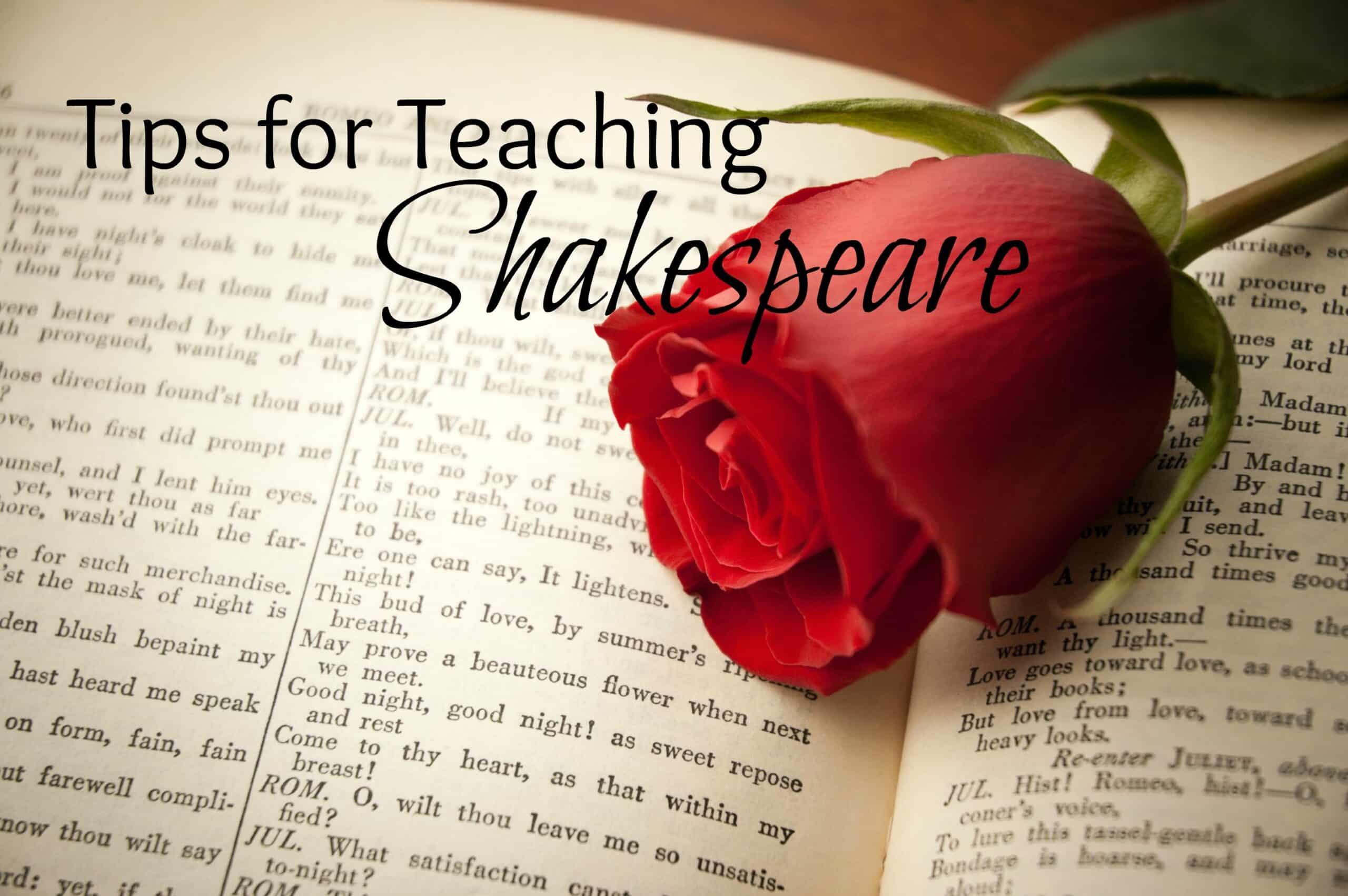 Tips for Teaching Shakespeare
