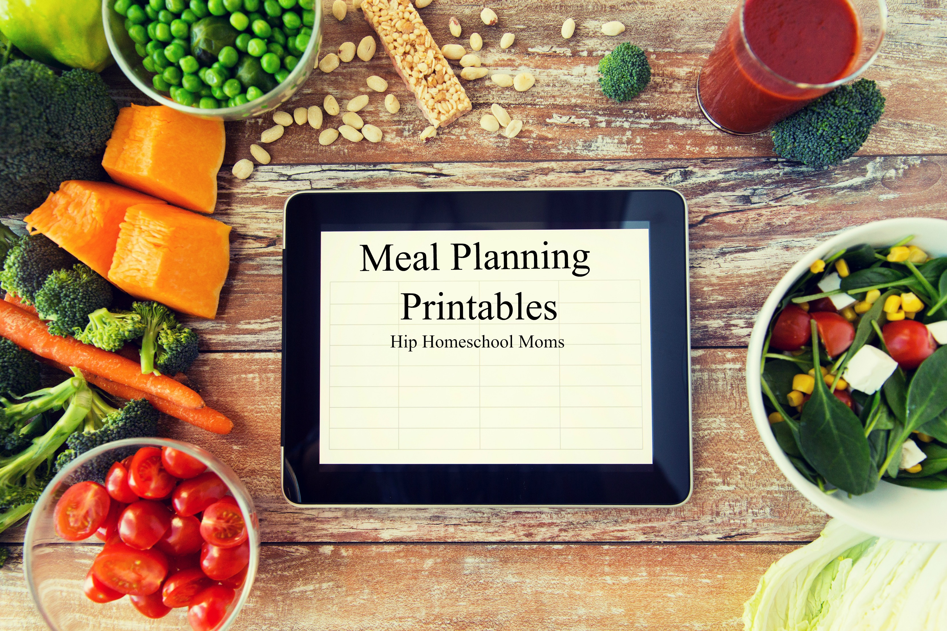 Meal Planning Printables and Ideas