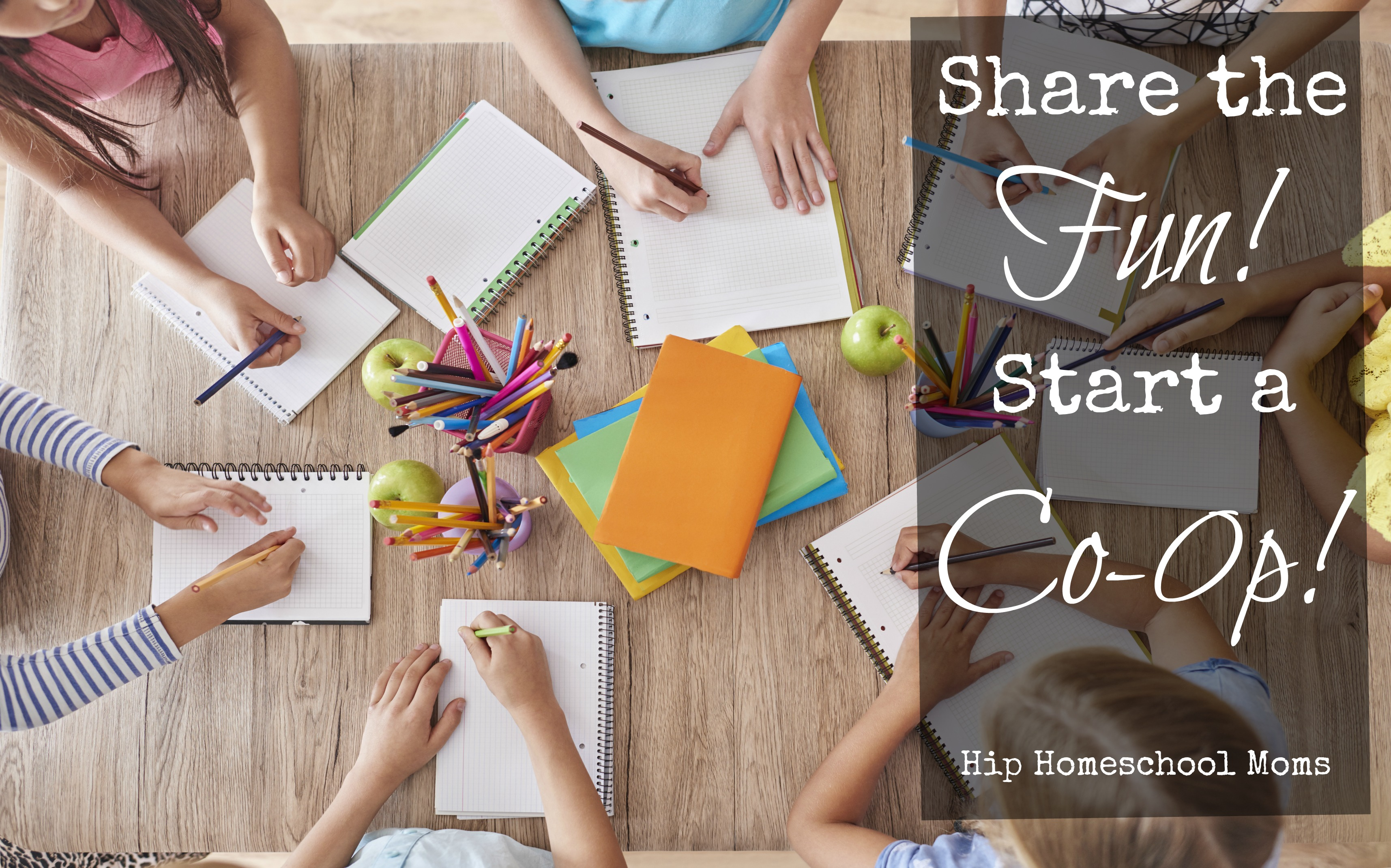 Share the Fun – Start a Co-op