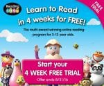 Improve Your Child's Reading with Reading Eggs